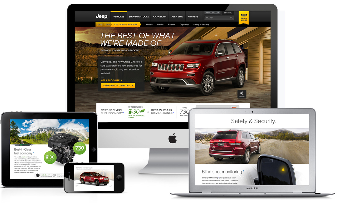 Jeep® | Model Year Vehicle Launch On Behance