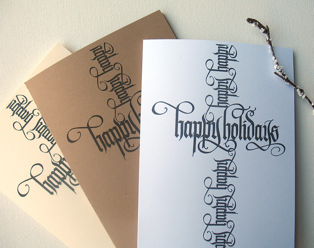 Creating Christmas Cards Online