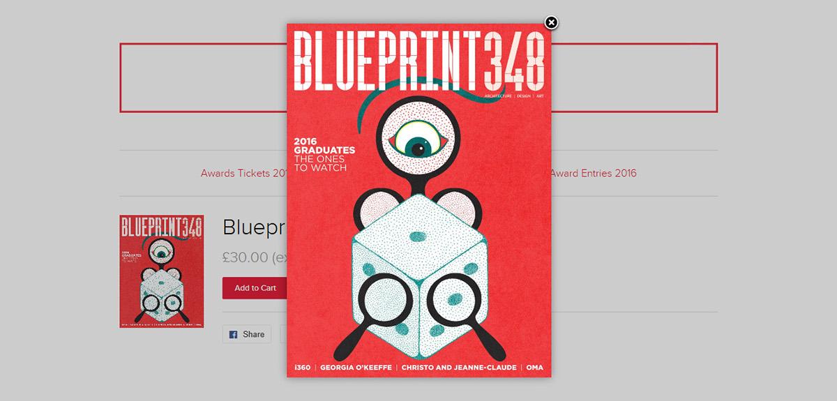 Blueprint magazine on behance blueprint store screenshot malvernweather Gallery