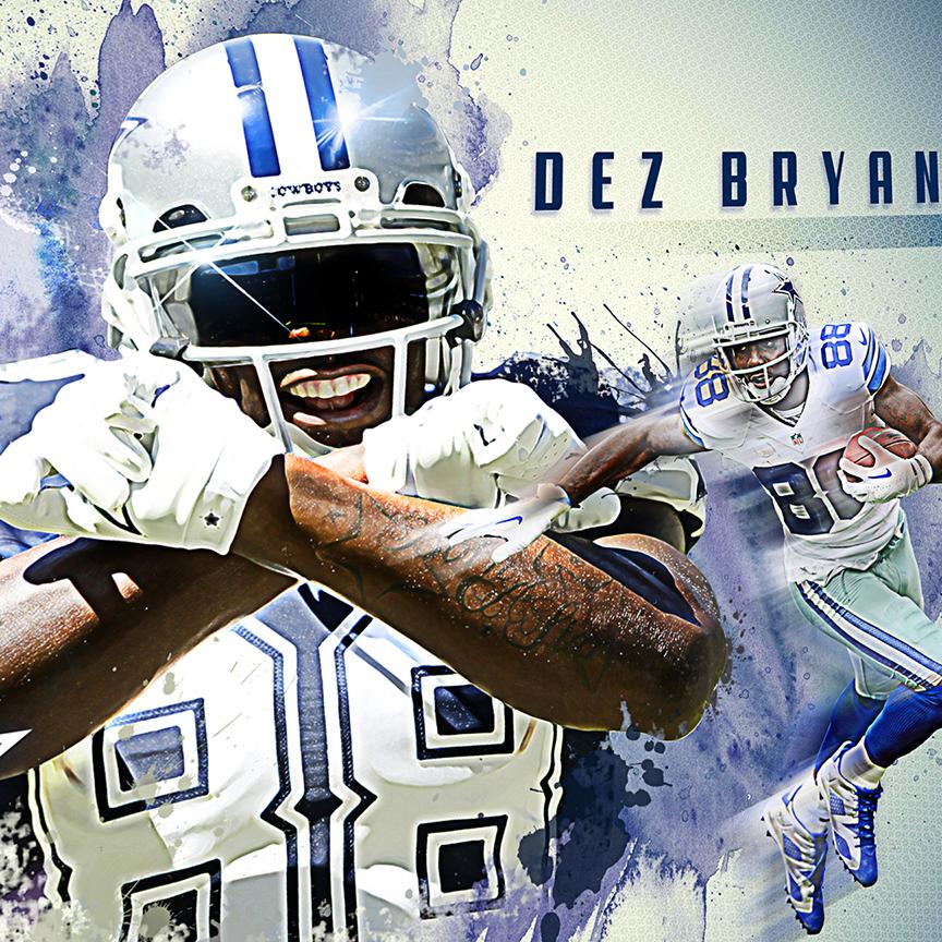 Dallas Cowboys Live Wallpaper: Dez Bryant Wallpaper On Behance