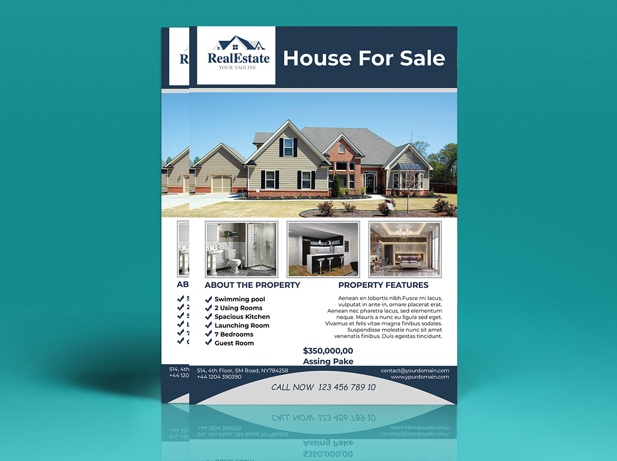 Real Estate& Property Flyer on Student Show