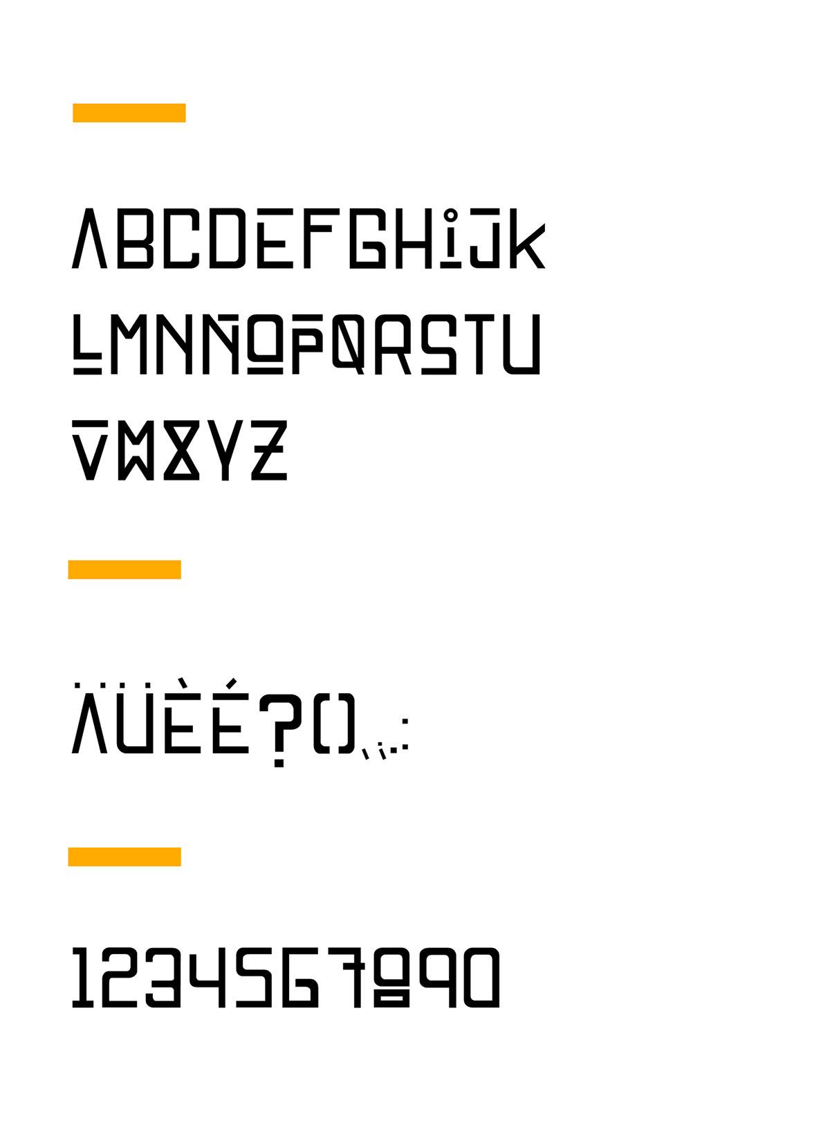 display font type Free font geometric font type type font typography