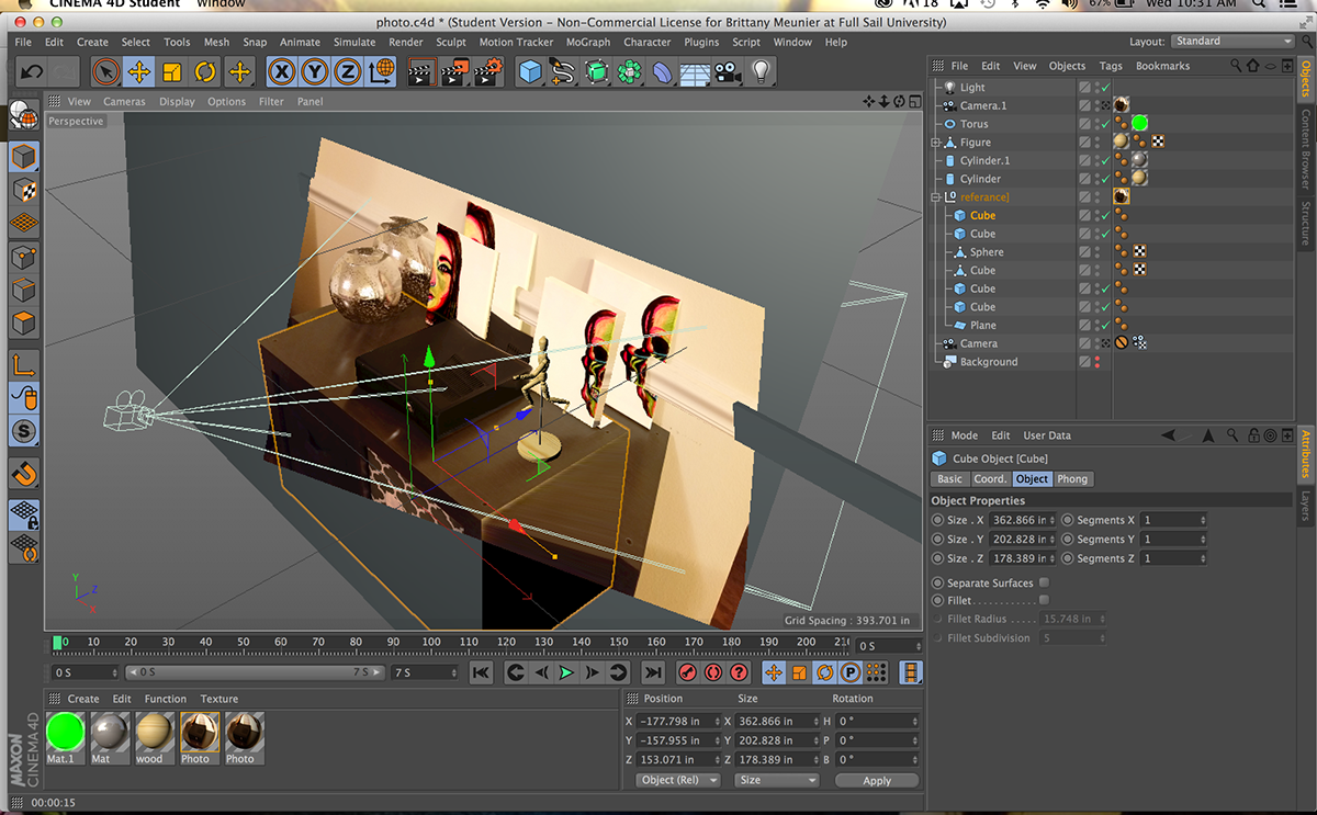 Camera Calibration Cinema 4D project on Behance