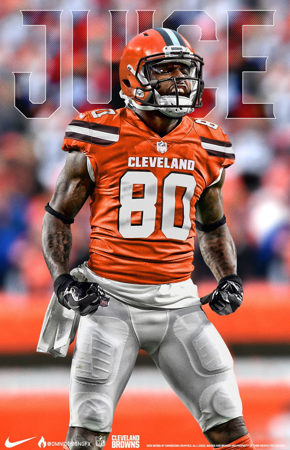 new arrival 92037 39662 Jarvis Landry Cleveland Browns Jersey Swap on Behance