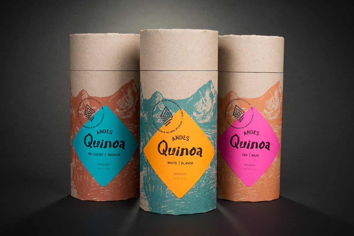 Andes Quinoa Packaging Designed By Michael Guite