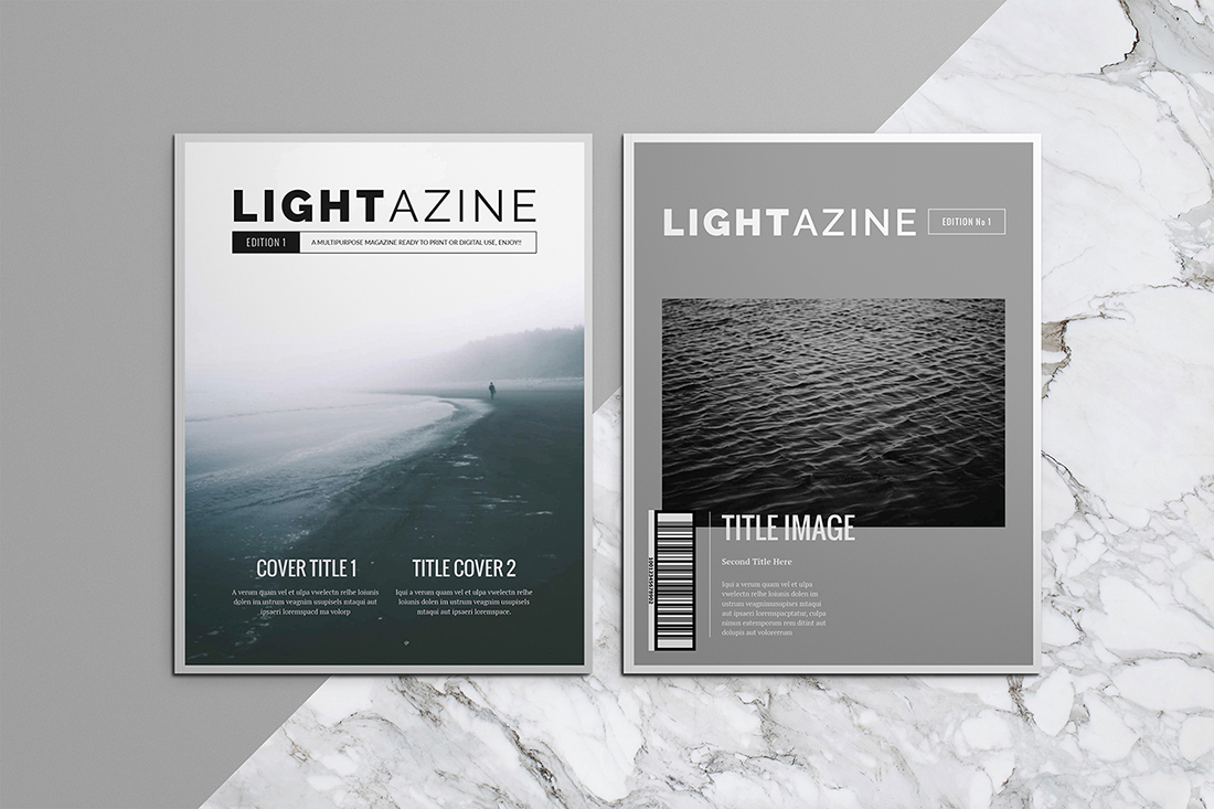 15 Indesign Magazine Brochure Templates On Behance