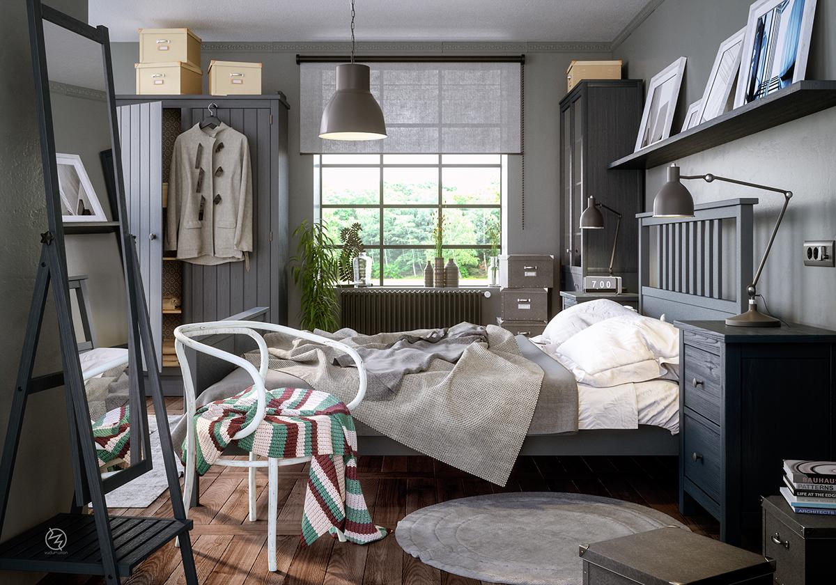 3 phong cách trang trí phòng ngủ kiểu Tây siêu đẹp - Công ty TNHH Quảng cáo Minh Thành L.H.P