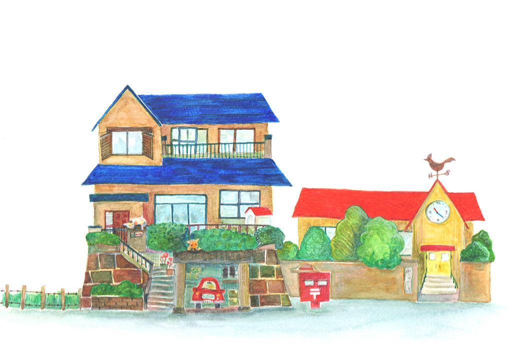 Adobe Portfolio ILLUSTRATION  Picture Drawing  sketch painting