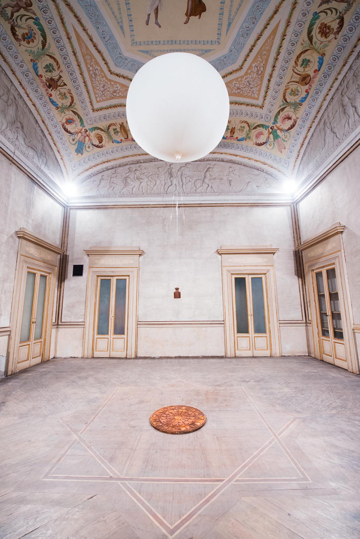 work of art Art Installation sculpture johnny hermann  solo exhibition ego social media site specific contemporary art