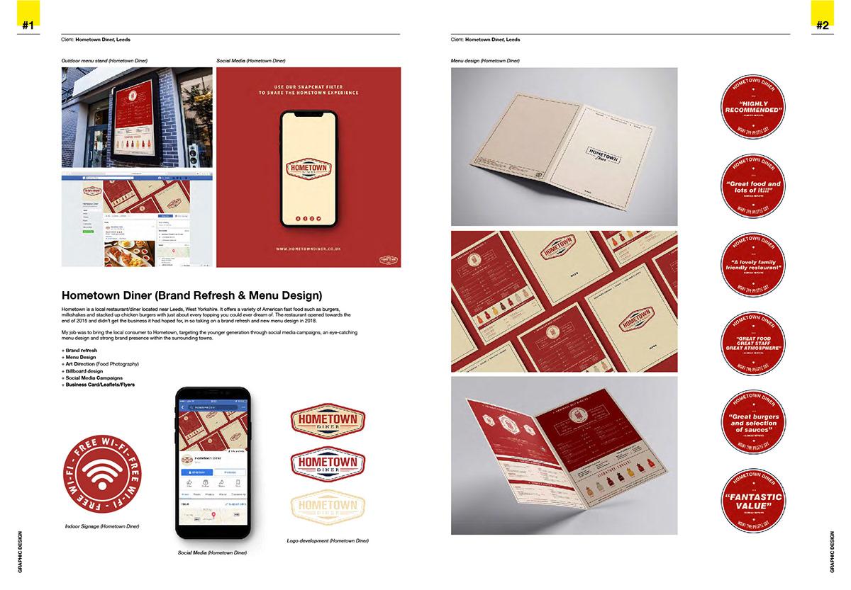 Graphic Design Portfolio on Student Show