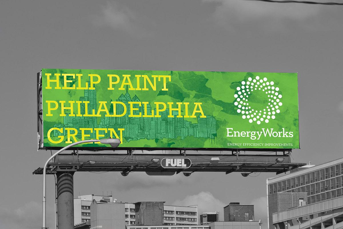 energyworks publication design billboard banner energy efficiency