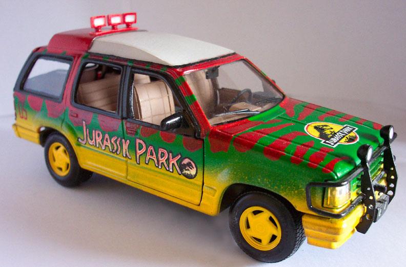 Jurassic Park branded Ford Explorer
