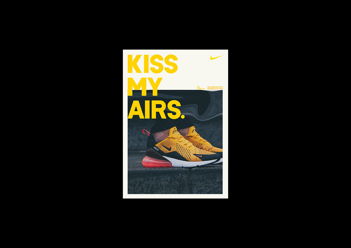 Nike AIRMAX 270 AD Campaign on Behance