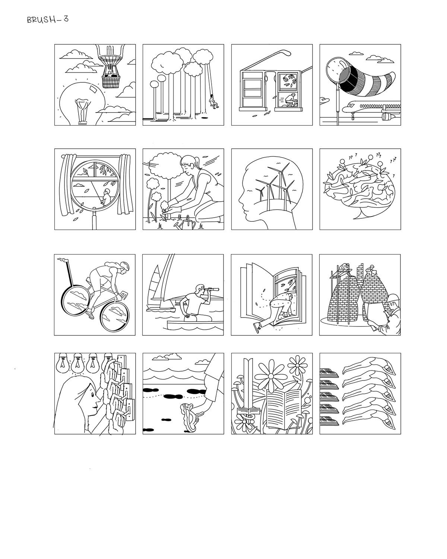 ILLUSTRATION  design graphic design  conceptual visual metaphor minimal simple