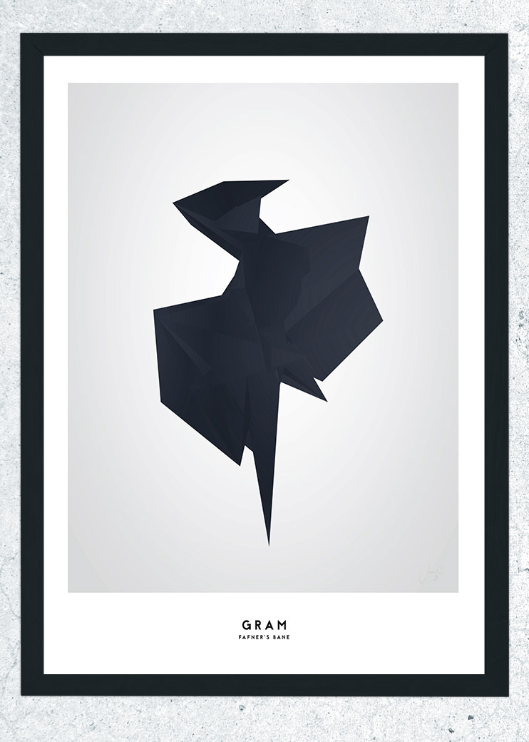 nordic minimalistic posters Interior norse mythology mythology art