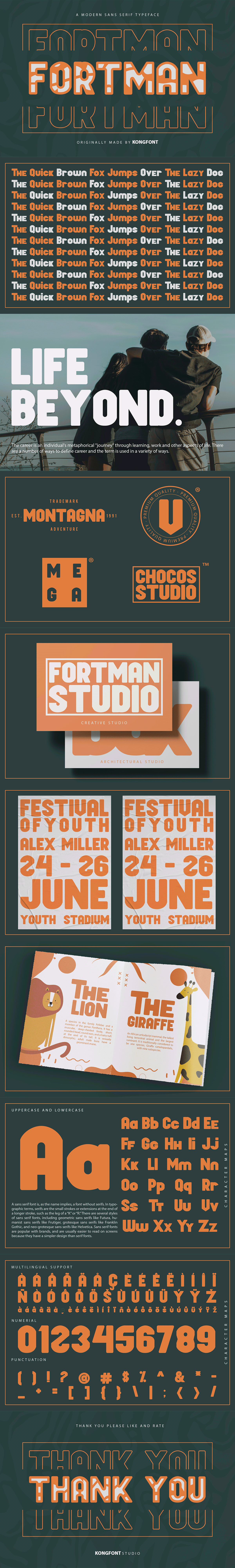 branding  font fonts foodies fortman foundry sans serif Typeface