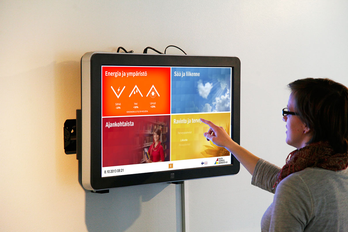visualization energy Interactive Screen