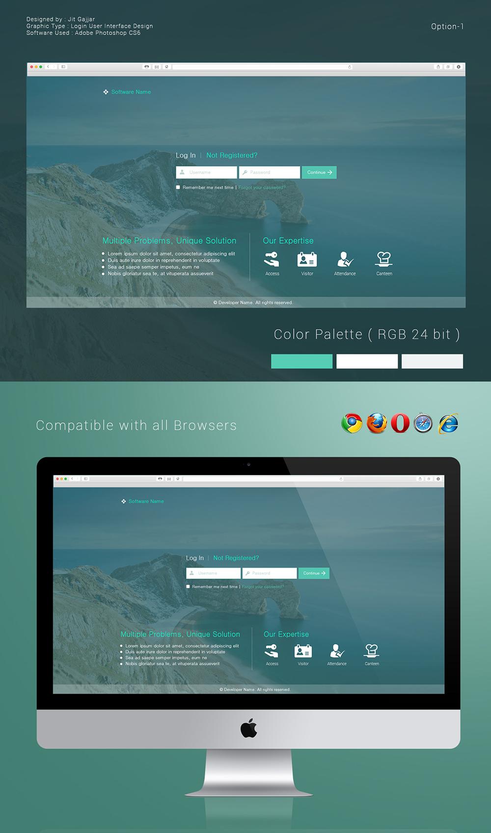 web gui design