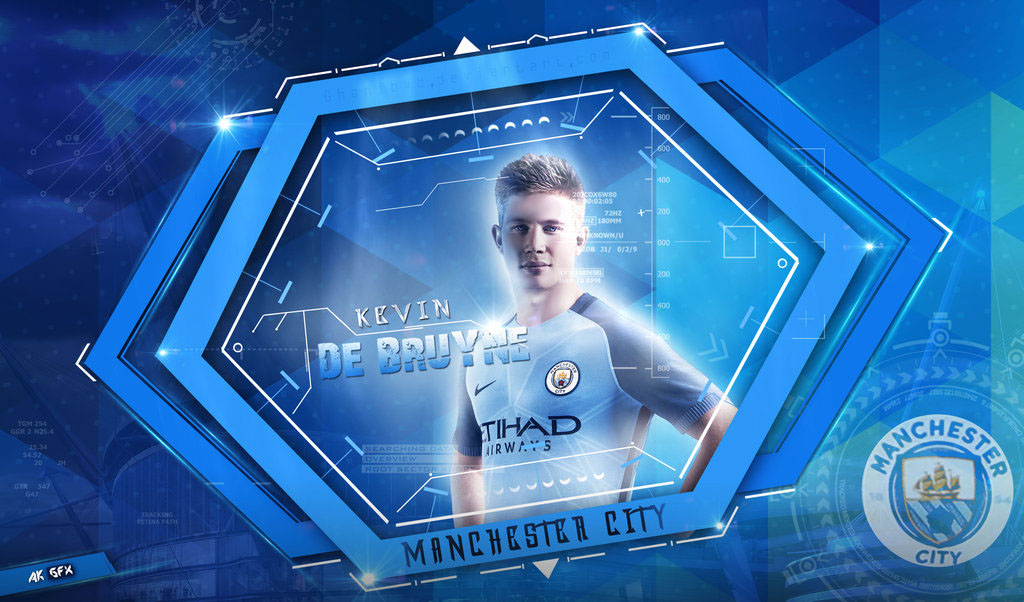 Kevin De Bruyne Wallpaper Man City 201617 On Behance