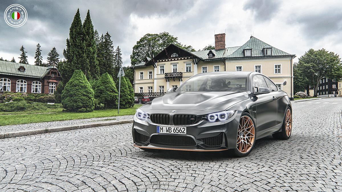 BMW M4 GTS 2016 On Behance