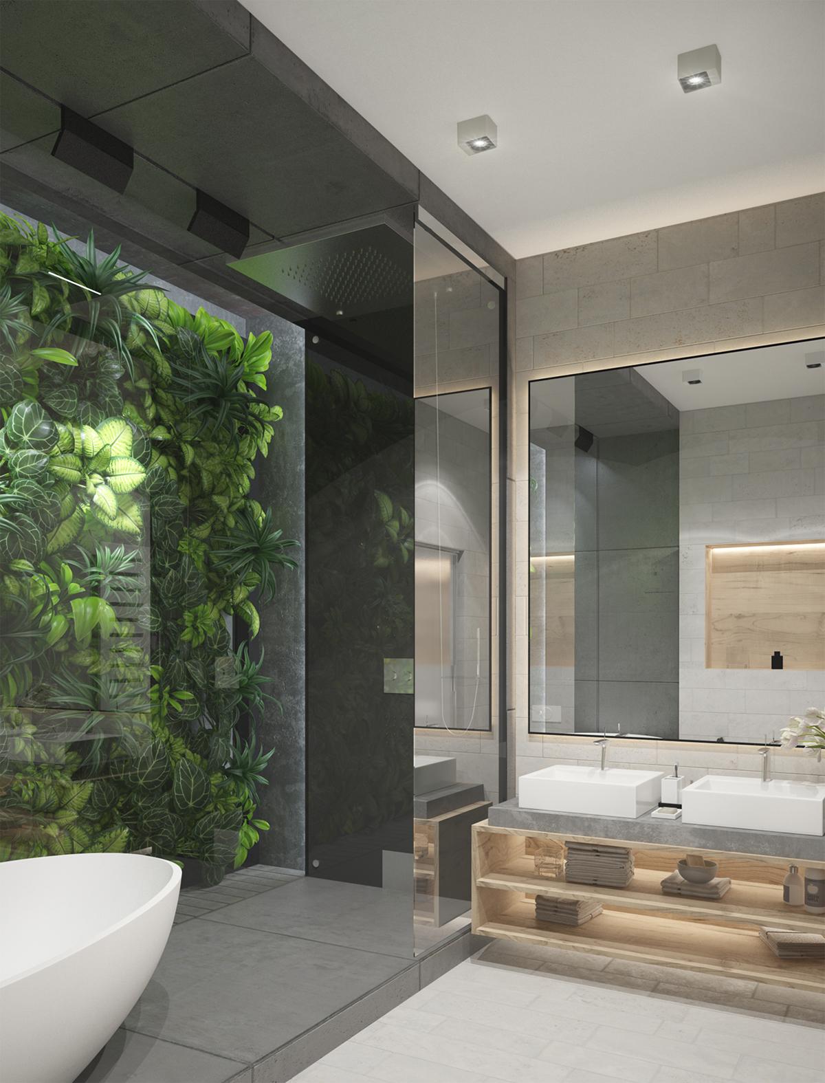 RAINFOREST BATHROOM on Behance
