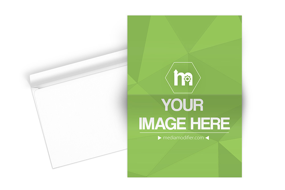 a4 paper and envelope mockup psd template on behance