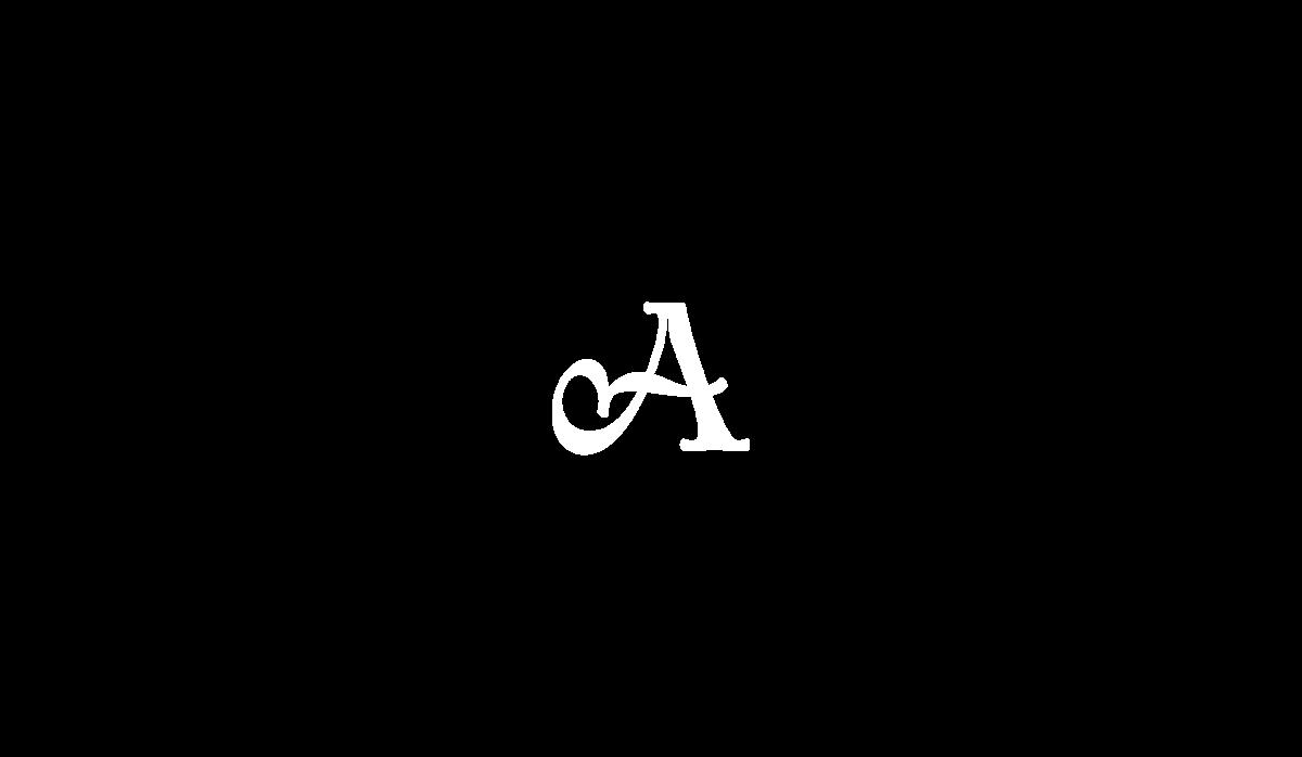 Logotype lettering