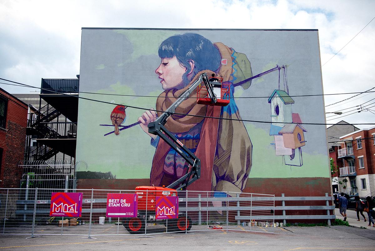 Mural festival on aiga member gallery for Mural festival