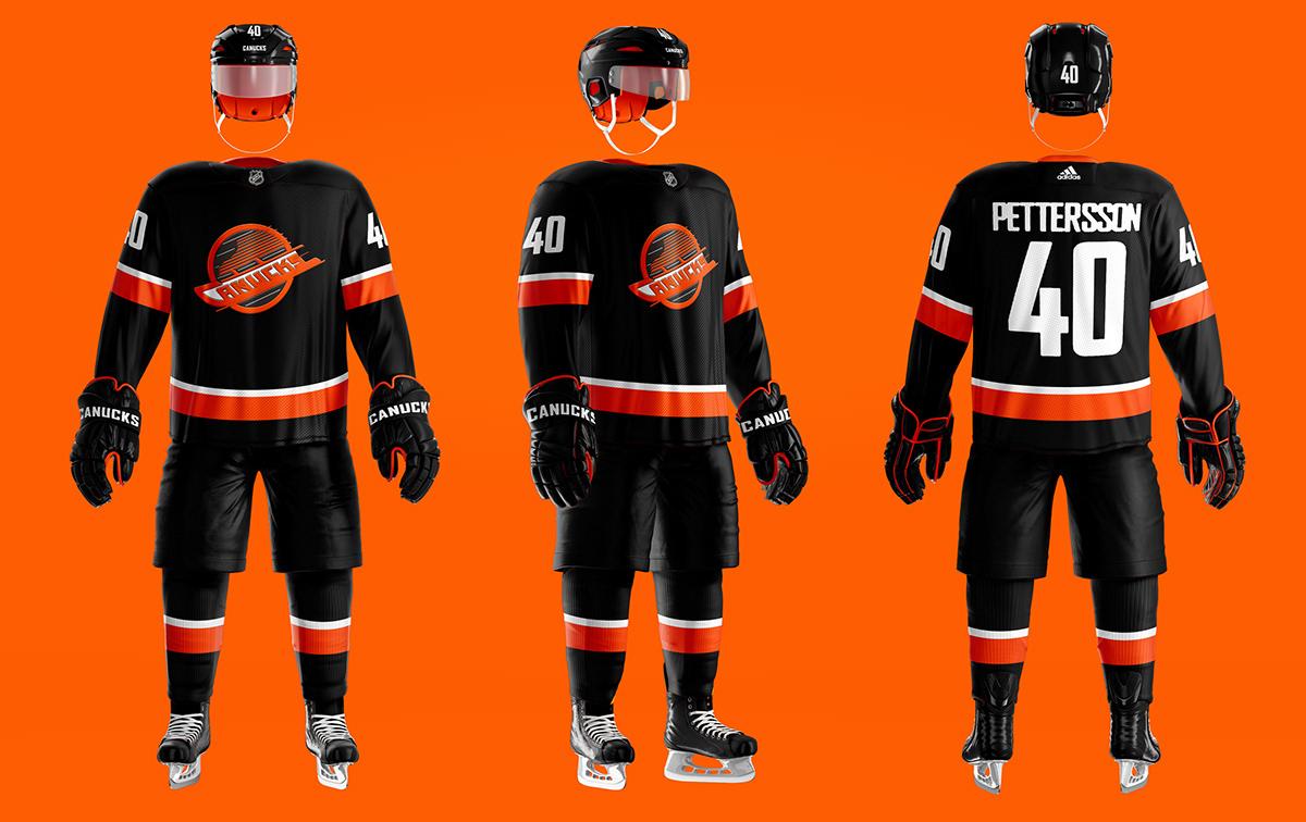 NHL / NFL-CFL Crossover Uniform Concept Series on Behance