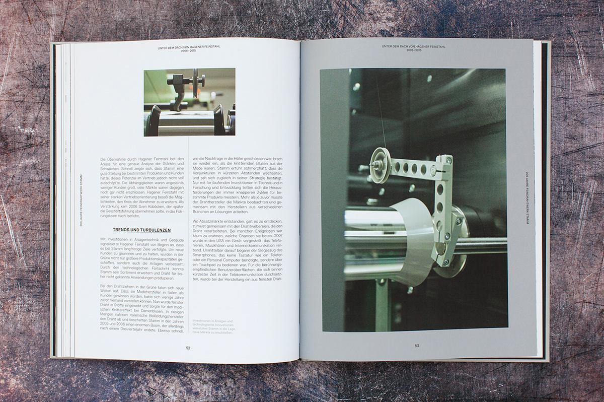 Adobe Portfolio buch chronik Grafik Design editorial design  Jubiläum