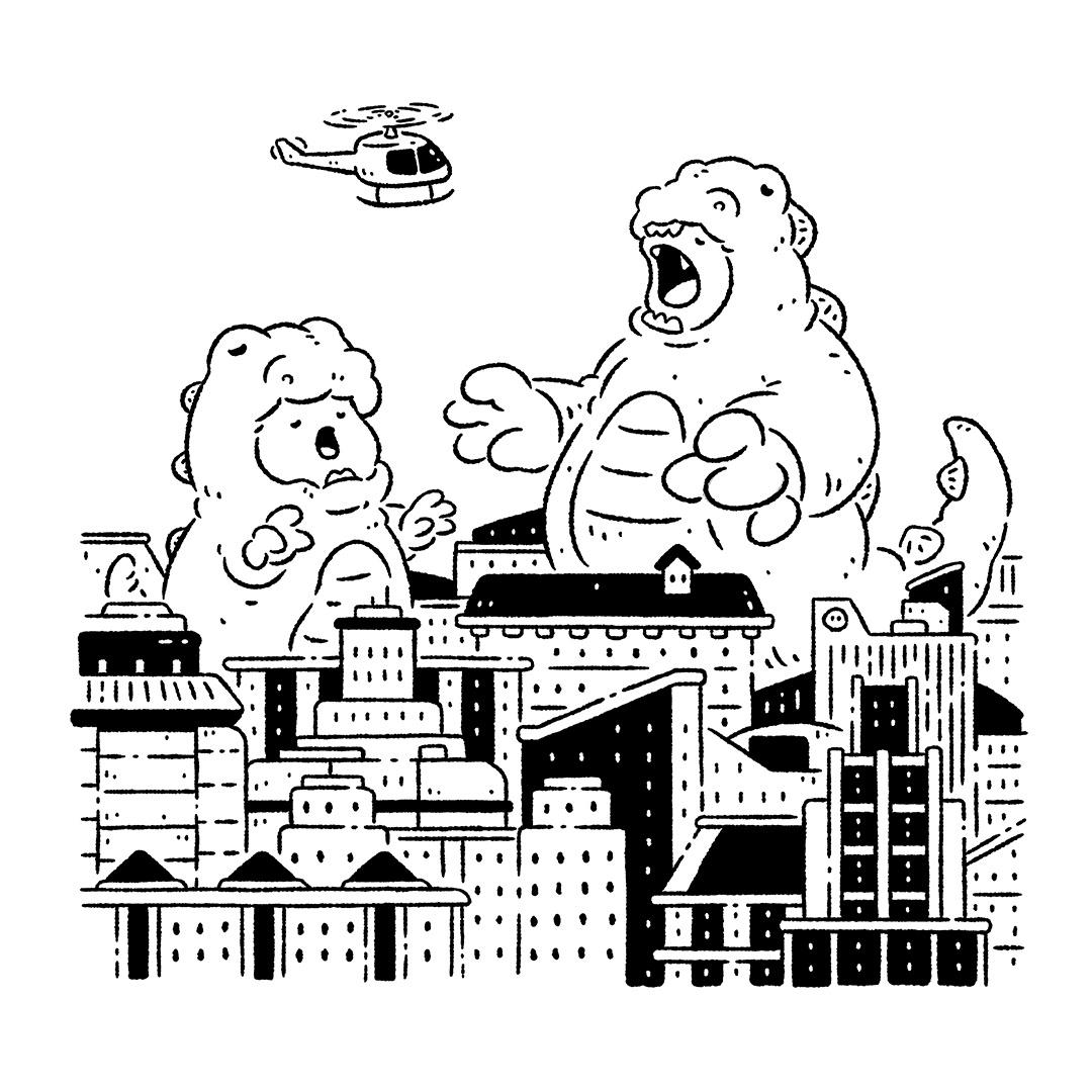 波寶島 popoland 插畫 ILLUSTRATION  イラスト art 繪畫 繪圖 藝術