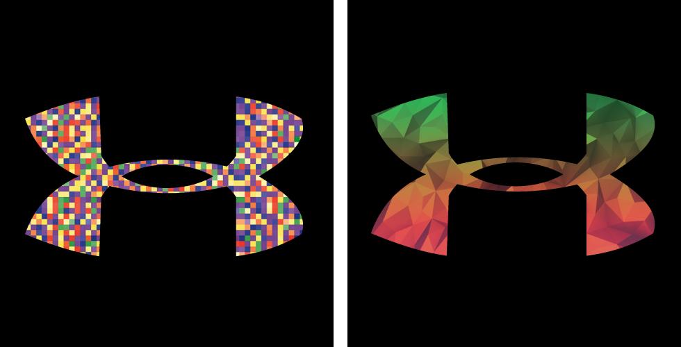 under armour logo exploration on behance