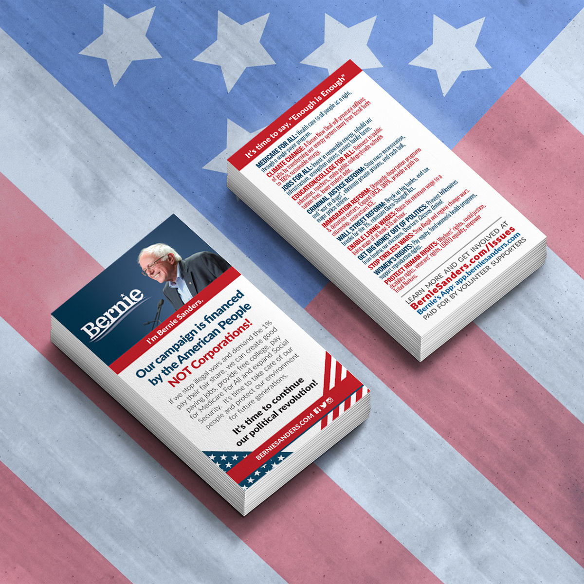 New Medicare Card 2020.Bernie Sanders 2020 Cards On Behance