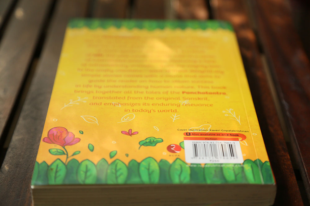 Book Cover Layout Bangalore : Panchatantra book cover design on behance