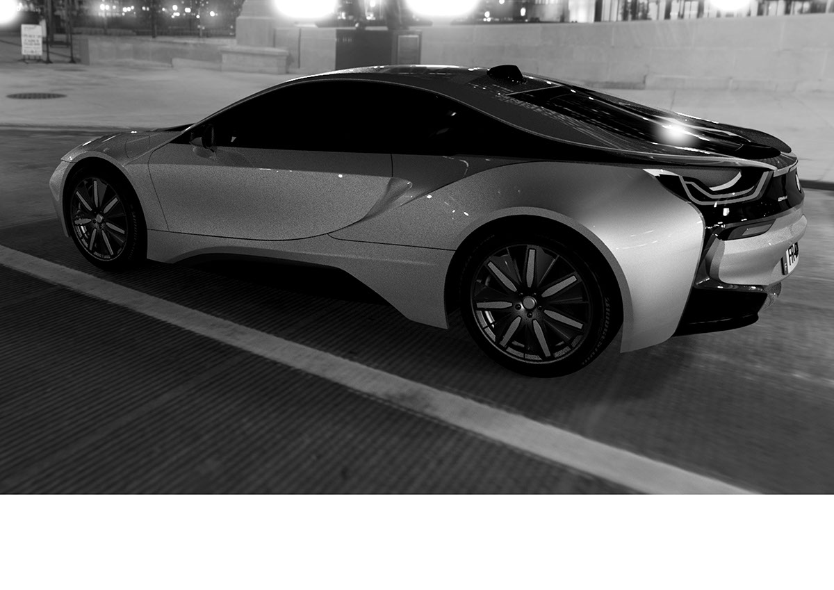 Bmw I8 3d Model On Student Show