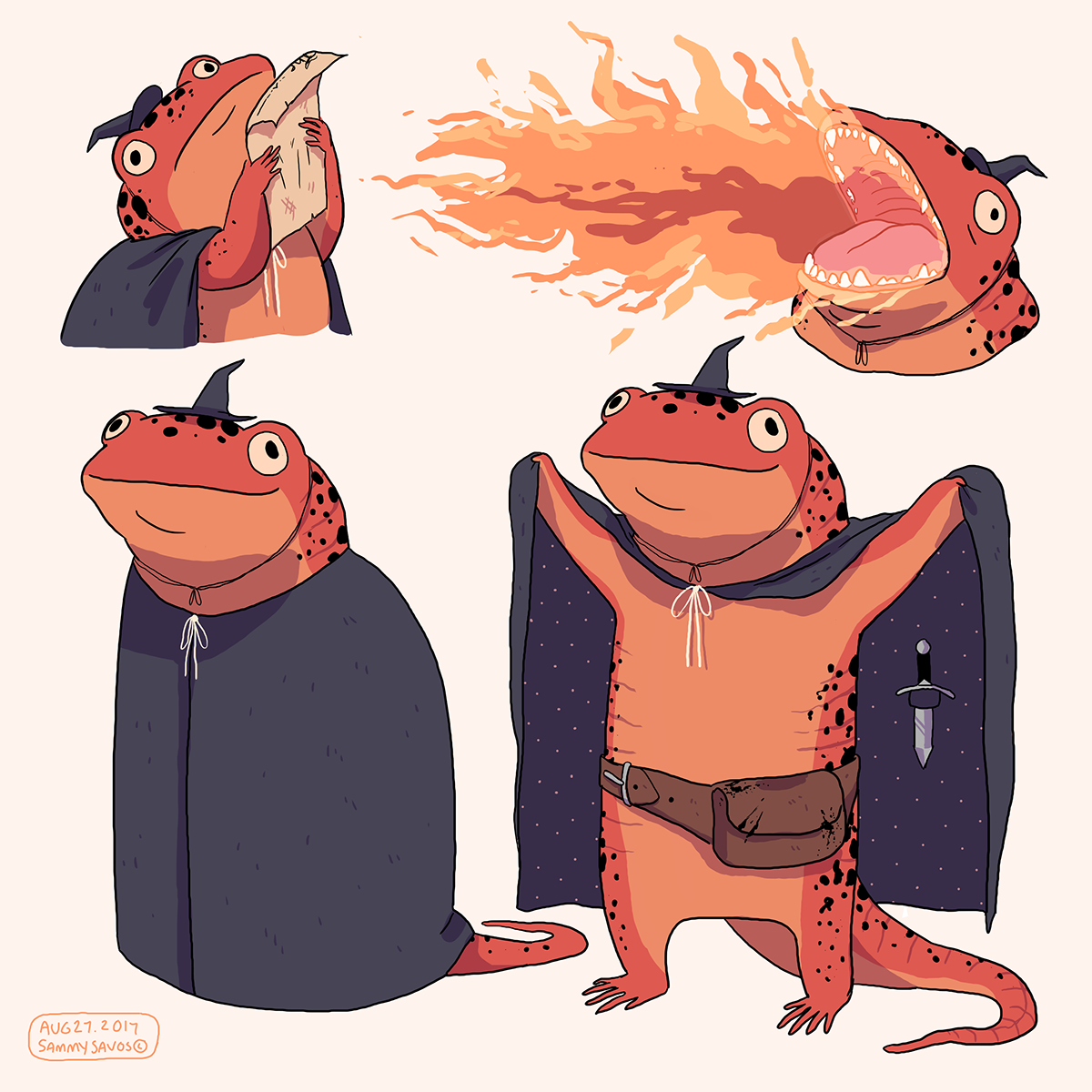 Character Design Dnd : Dnd character design on behance