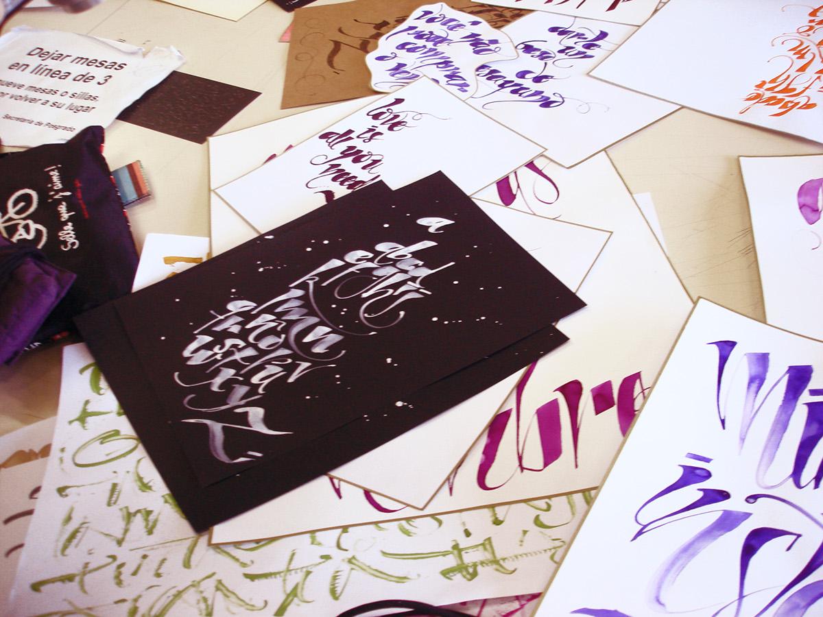 caligrafia diseño ilustracion