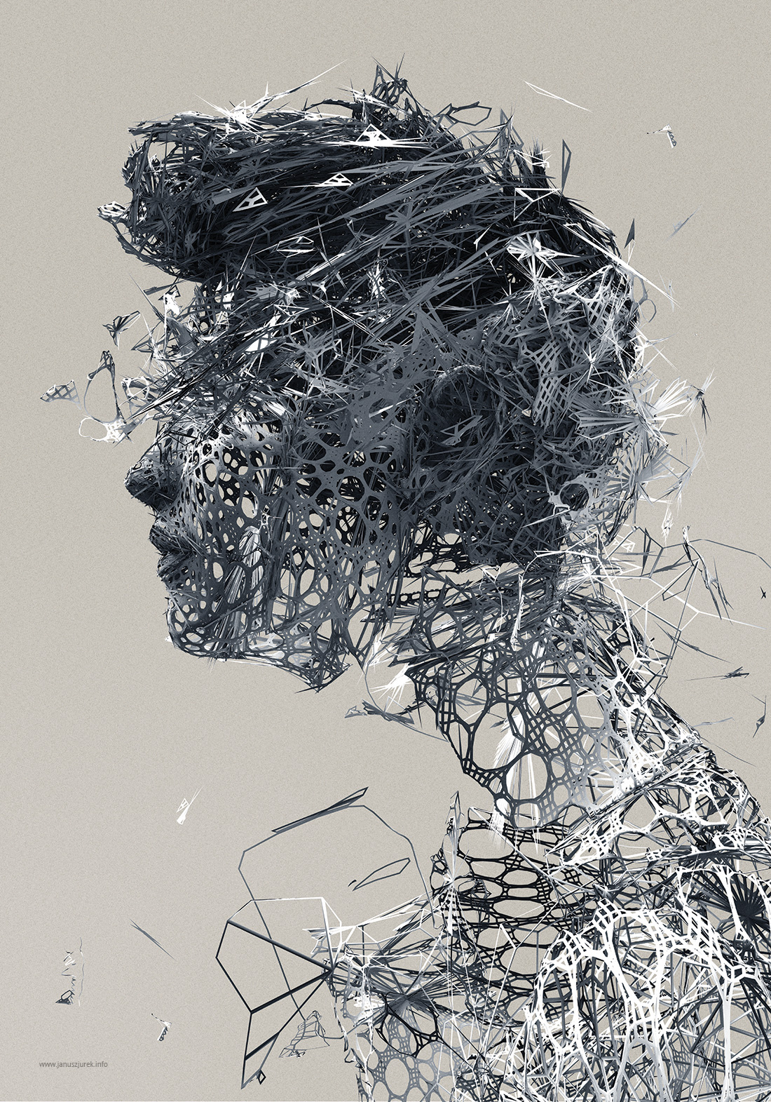 Creative Digital Artworks by Janusz Jurek #artpeople