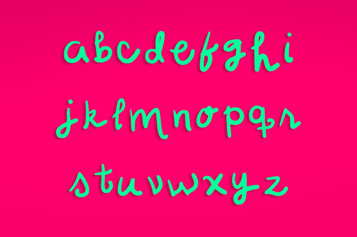 free font handwritten typographic calligraphic gratis tipografia fuente desing Freelance mexico Guadalajara ruby Project new