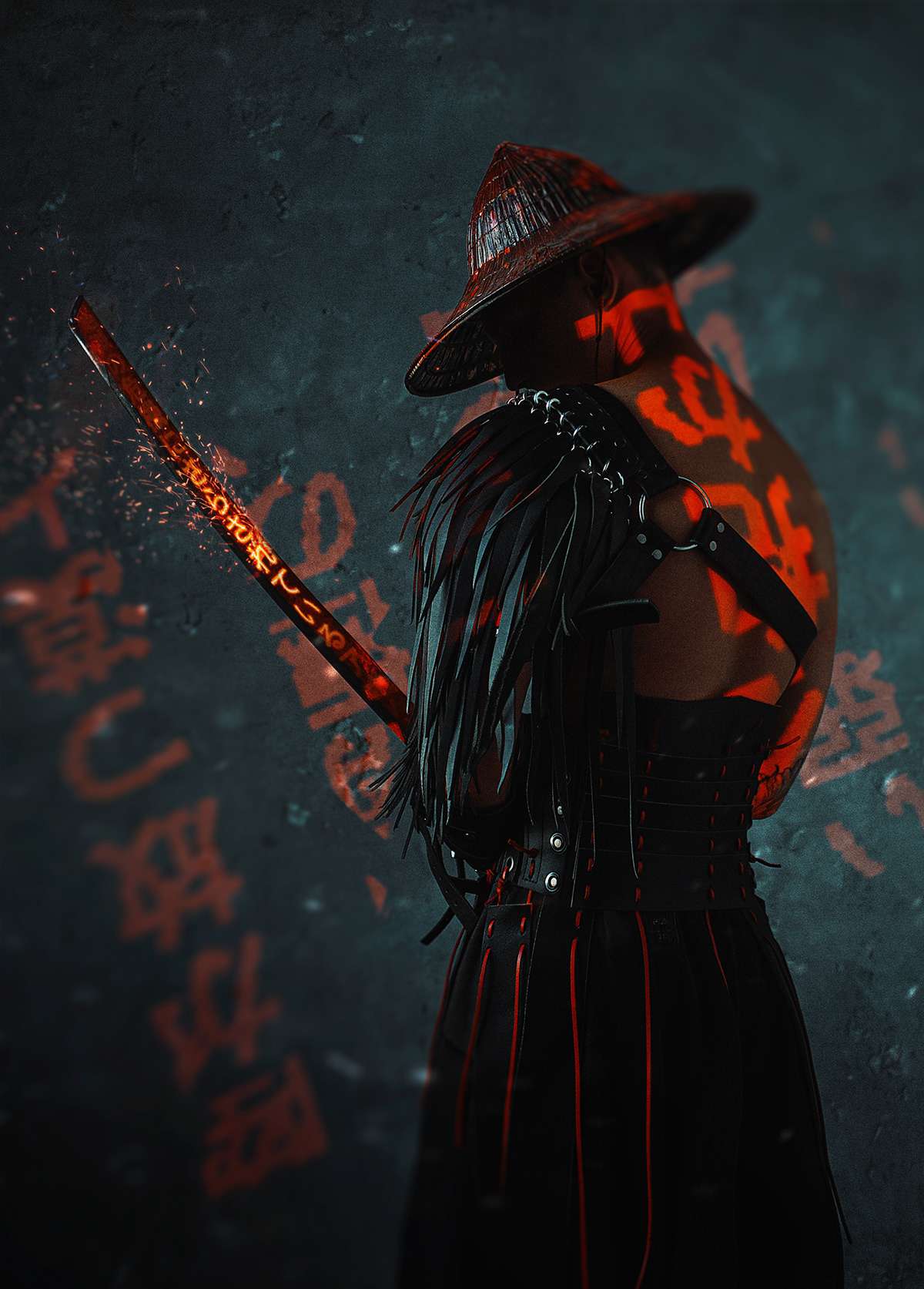 Cyber Samurai On Behance
