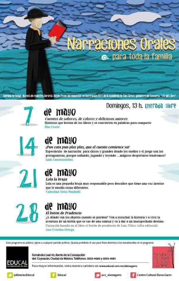 read books Reading sea cartel Educal Elena Garro