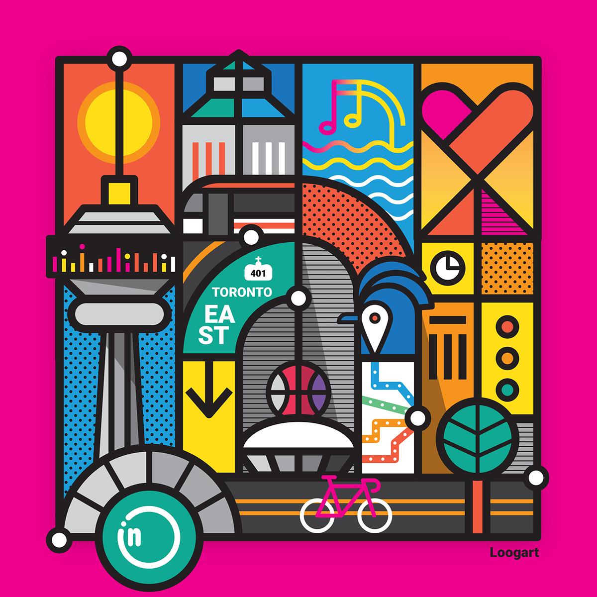 Influence Toronto Artwork on Behance