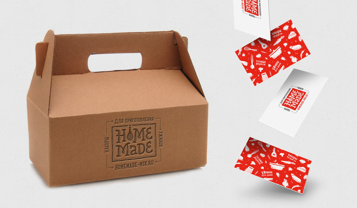 Homemade Food Boxes For Cooking Dinners On Behance