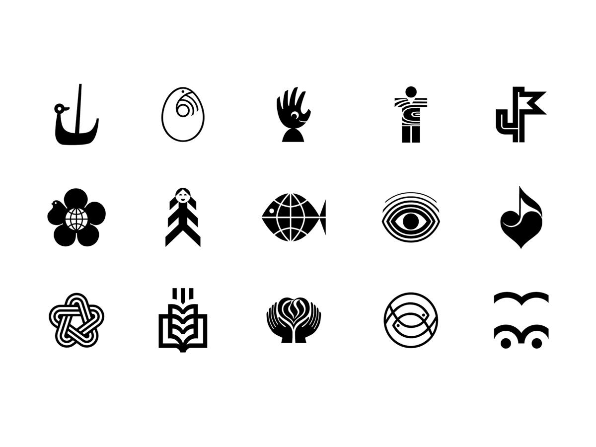 символические логотипы картинки думала том, чтобы