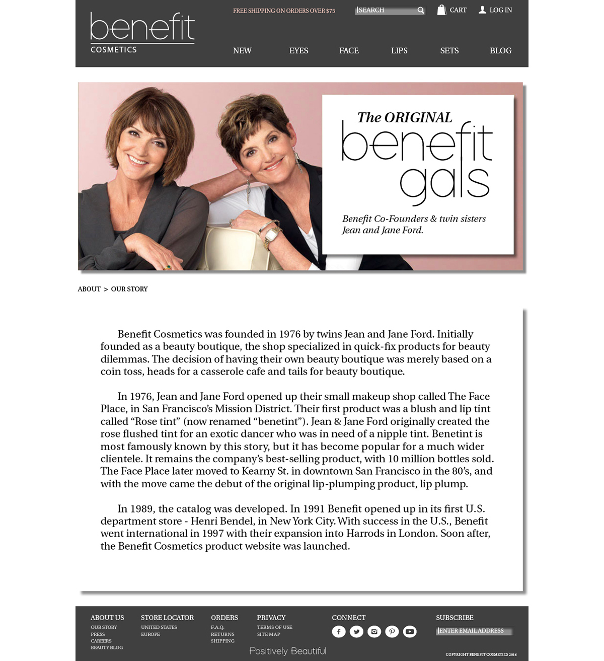 Benefit Rebranding on Behance