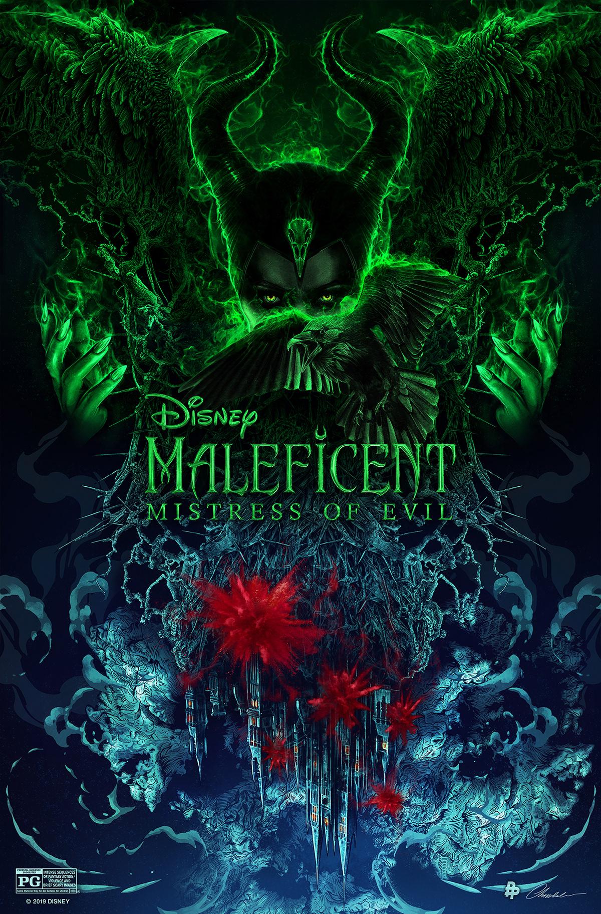 Disney Maleficent Mistress Of Evil 2019 On Behance