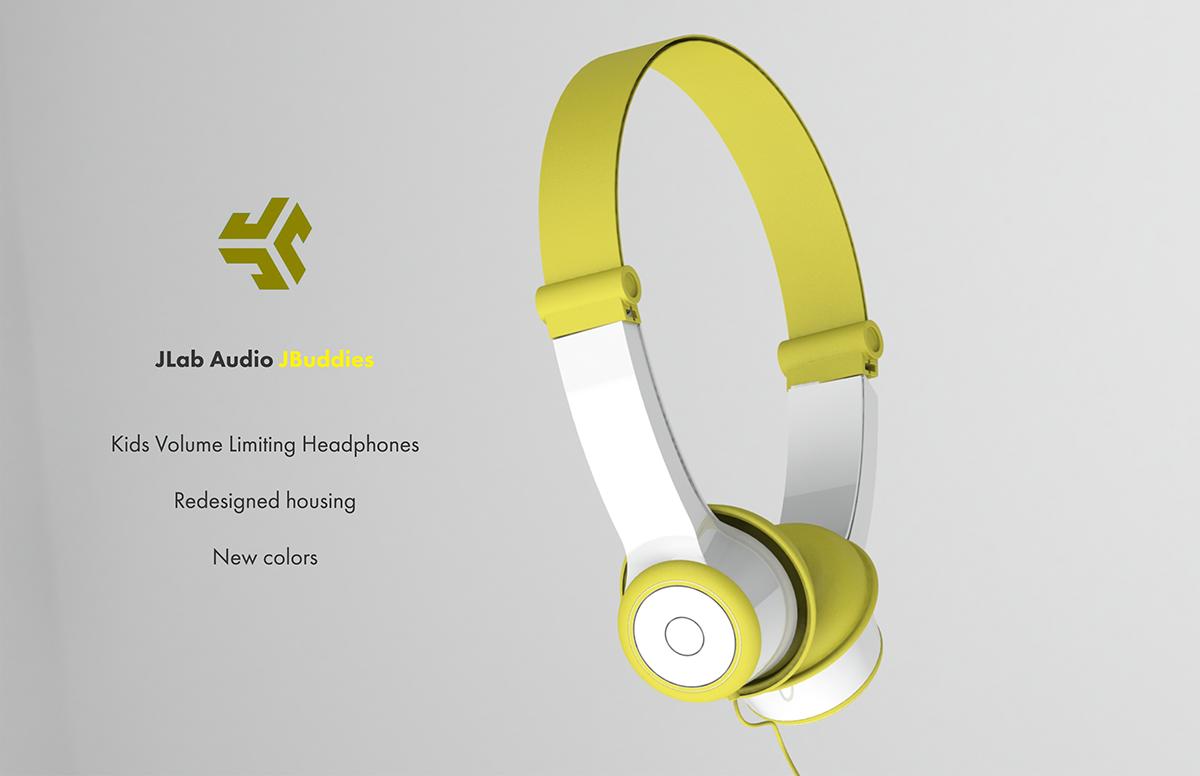068a89ed930 Jbuddies Kids Headphones on Behance