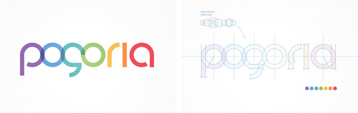 pogoria Shopping Centre dąbrowa Dąbrowa Górnicza rebranding logo design