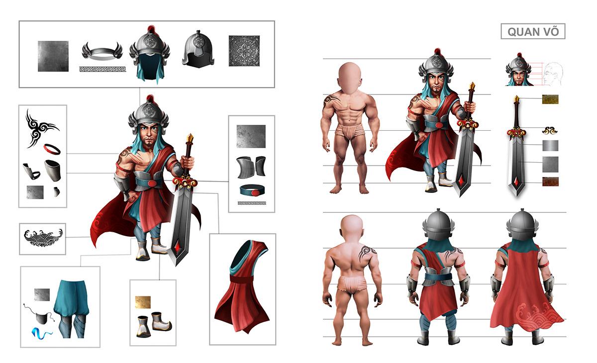 2d artist art concept art Digital Art  hoạt hình mầm mam thinh brand think digital viet nam