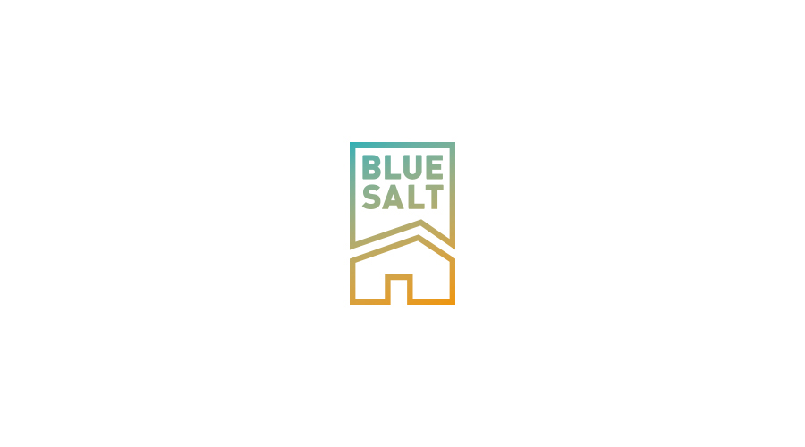 logo typographics branding  sign identica line color blue flat Icon